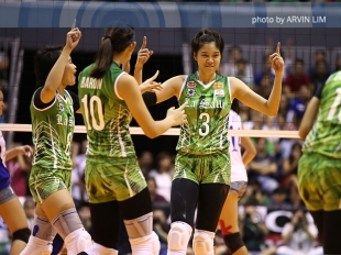 WATCH! UAAP 78 Women's Volleyball Finals Game 1