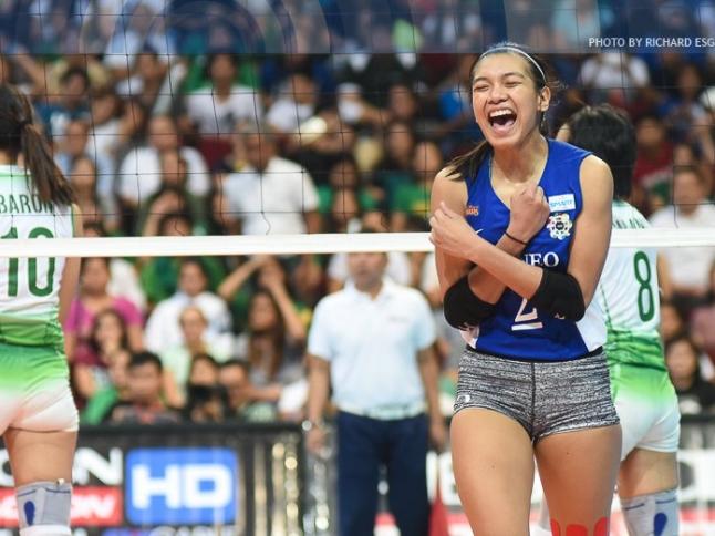WATCH! UAAP 78 Women's Volleyball Finals Game 2