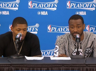 PRESS CON: Wizards zoom past Hawks, advance to East semis