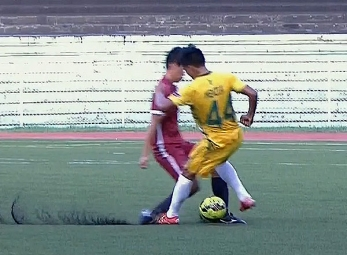 UAAP 79 FOOTBALL SEMIFINALS: UP vs FEU (H1)