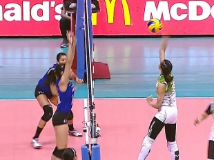 UAAP 79 WOMEN'S VOLLEYBALL FINALS GAME 2: ADMU vs DLSU (S4)