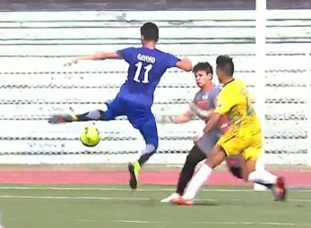 UAAP 79 MEN'S FOOTBALL FINALS: ADMU vs FEU (H1)