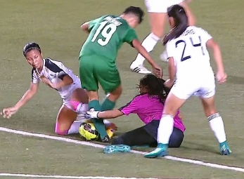 UAAP 79 WOMEN'S FOOTBALL FINALS: DLSU vs UST (H1)