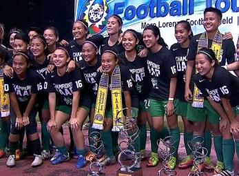 UAAP 79 WOMEN'S FOOTBALL FINALS: DLSU vs UST (H2)