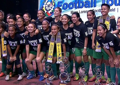 UAAP 79 WOMEN'S FOOTBALL FINALS: DLSU vs UST (H2)