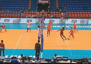 PREMIER VOLLEYBALL LEAGUE ROUND 1: CIG  vs CLS (S1)