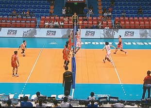 PREMIER VOLLEYBALL LEAGUE ROUND 1: CIG  vs CLS (S4)