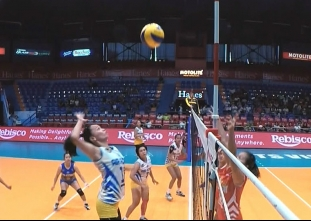 PREMIER VOLLEYBALL LEAGUE ROUND 1: PAF vs PSM (S1)