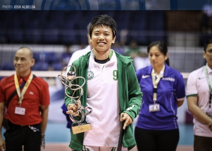 What convinced Kim Fajardo to come back for UAAP Season 79?