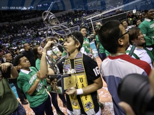 The Lady Spikers talk about facing adversity against Ateneo