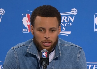 PRESS CON: Warriors go up 2-0 on the Spurs