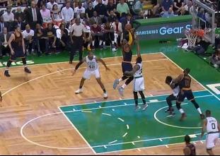LeBron James drops 38 points on the Celtics