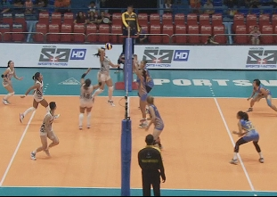 PREMIER VOLLEYBALL LEAGUE ROUND 2: PER vs PAF (S1)