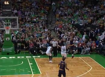 JR Smith beats the buzzer vs the Celtics