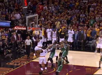 Kyrie Irving ties it up late vs the Celtics