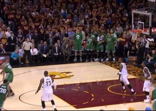 Avery Bradley wins it at the buzzer for the Celtics