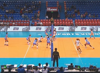 PREMIER VOLLEYBALL LEAGUE ROUND 1: PAF vs POC (S2