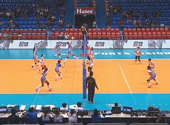 PREMIER VOLLEYBALL LEAGUE ROUND 1: PAF vs POC (S4)