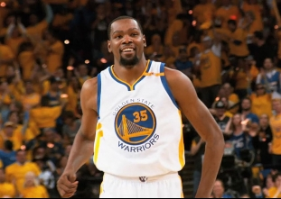 Kevin Durant goes off for 38 points in game one vs the Cavs