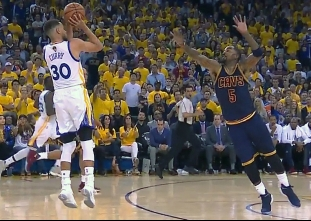 Best of Stephen Curry from game one of the 2017 Finals