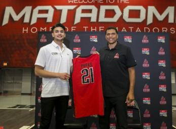 Kobe Paras joins CSUN Matadors