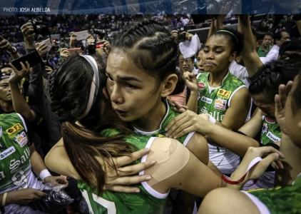 UAAP 79 Top 10 Blocks: DLSU's Majoy Baron