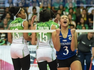 UAAP 79 Top 10 Attacks: Ateneo's Michelle Morente