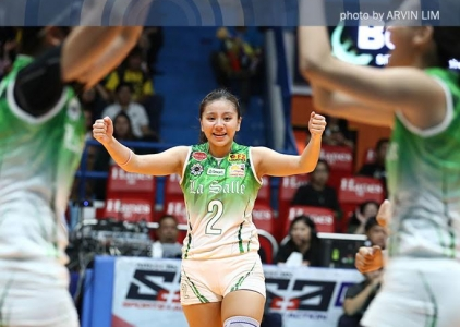 UAAP 79 Top 10 Attacks: DLSU's Desiree Cheng