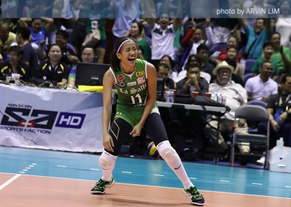 UAAP 79 Top 10 Attacks: DLSU's Kim Dy