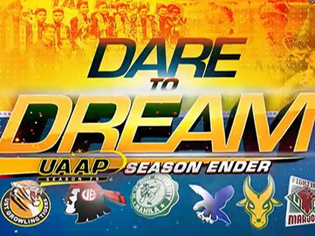 UAAP 79 DARE TO DREAM SEASON ENDER