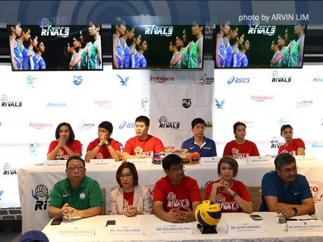 Ateneo and DLSU renew their rivalry on the volleyball court