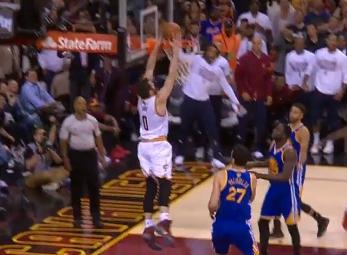 Cavaliers' Big Three dominates Finals game four