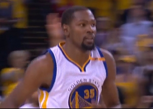 Kevin Durant closes out the Cavaliers with 39 points