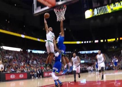 Top 10 plays of the 2016-17 season: Boston Celtics