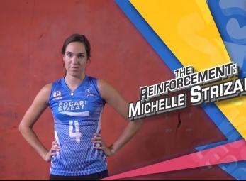 PVL Exclusives: Michelle Strizak, The Reinforcement
