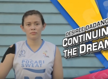 PVL Exclusives:  Desiree Dadang, Continuing The Dream