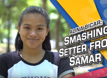 PVL Exclusives: Alina Bicar, The Smashing Setter from Samar