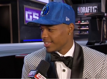 Dennis Smith Jr. drafted 9th overall by the Dallas Mavericks