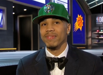 Jayson Tatum drafted 3rd overall by the Boston Celtics
