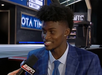 Jonathan Isaac drafted 6th overall by the Orlando Magic