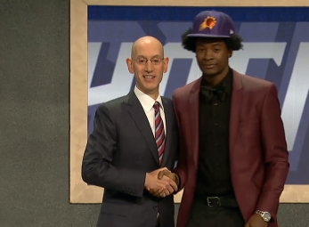 Josh Jackson drafted 4th overall by the Phoenix Suns