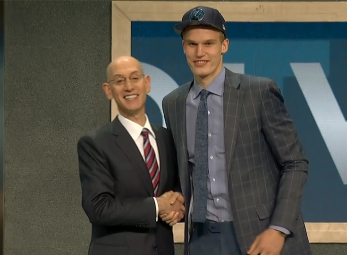 Lauri Markkanen selected 7th overall in 2017 NBA Draft