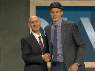 Lauri Markkanen selected 7th overall in 2017 NBA Draft