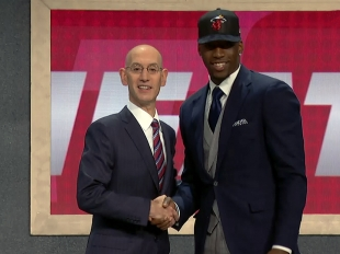 Bam Adebayo drafted 14th overall by the Miami Heat