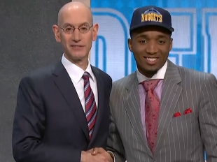 Donovan Mitchell selected 13th overall in 2017 NBA Draft