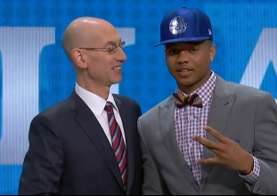 Markelle Fultz drafted 1st overall by the Philadelphia 76er