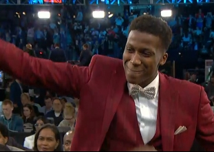 Frank Ntilikina drafted 8th overall by the New York Knicks