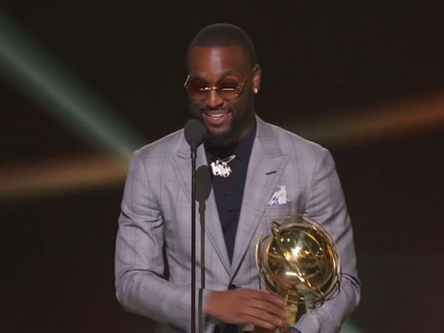 NBA Sportsmanship Award: Kemba Walker