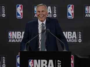 2017 NBA Awards: Mike D'Antoni Press Conference