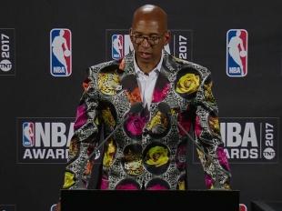 2017 NBA Awards: Monty Williams Press Conference